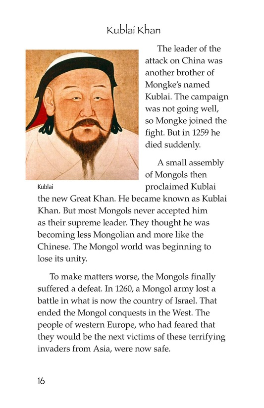 Book Preview For The Mongol Empire Page 16