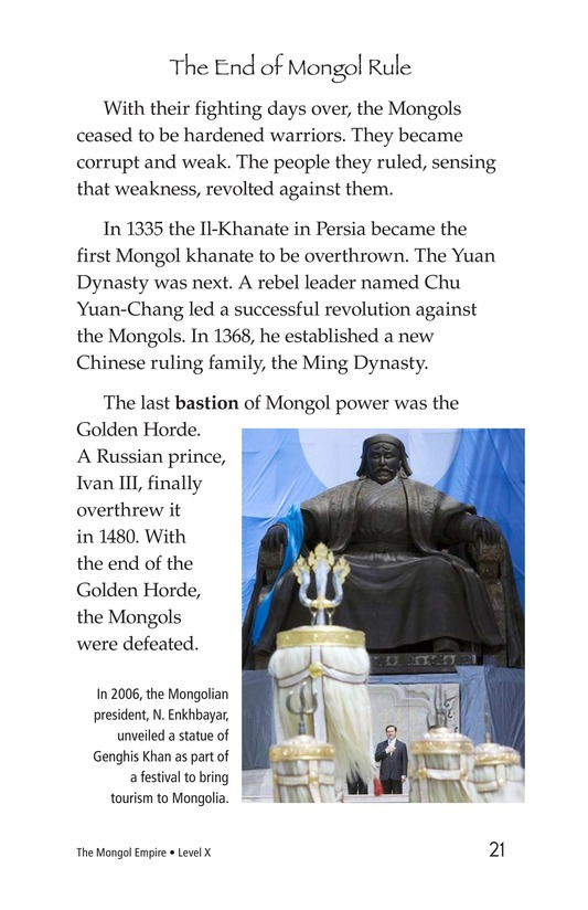 Book Preview For The Mongol Empire Page 21