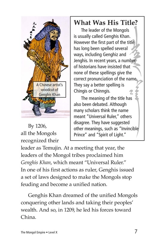 Book Preview For The Mongol Empire Page 7