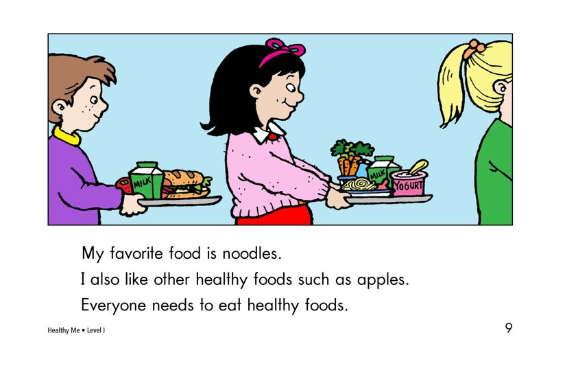 Book Preview For Healthy Me Page 9
