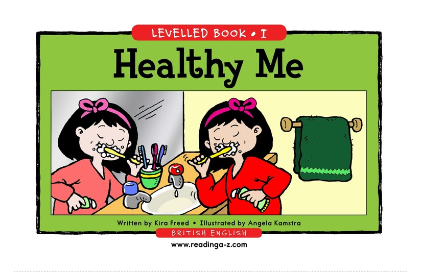 Book Preview For Healthy Me Page 1