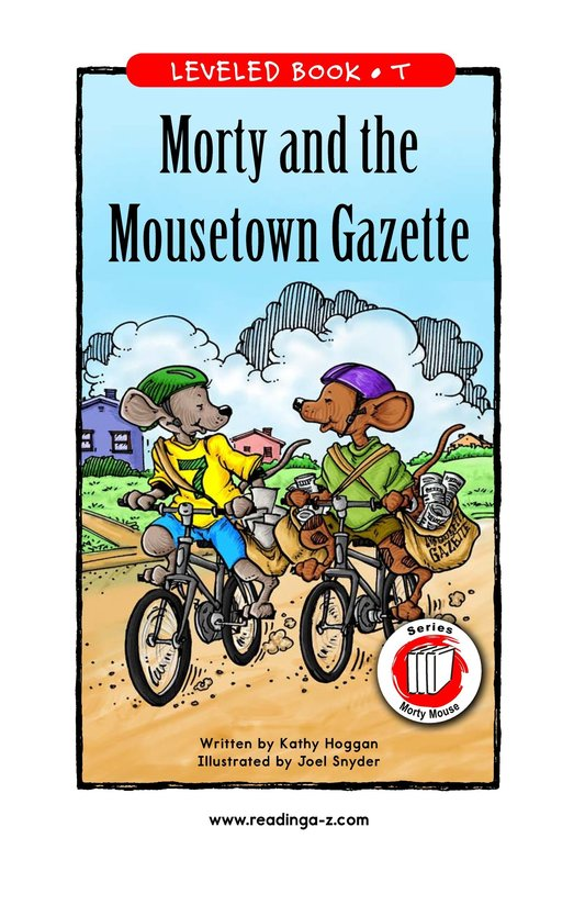 Book Preview For Morty and the Mousetown Gazette Page 1