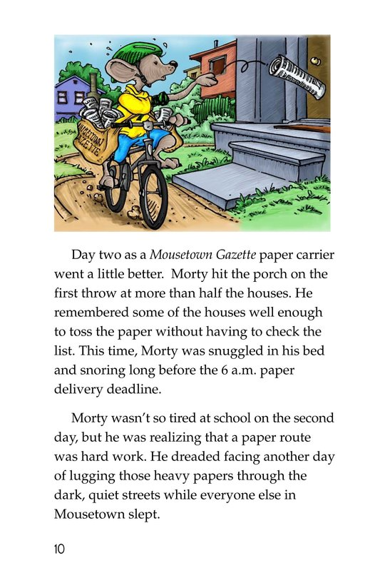 Book Preview For Morty and the Mousetown Gazette Page 10