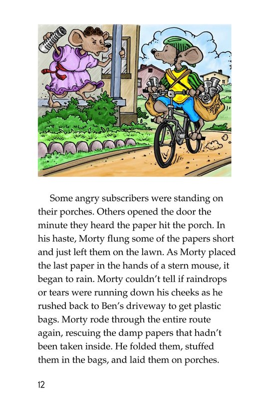 Book Preview For Morty and the Mousetown Gazette Page 12