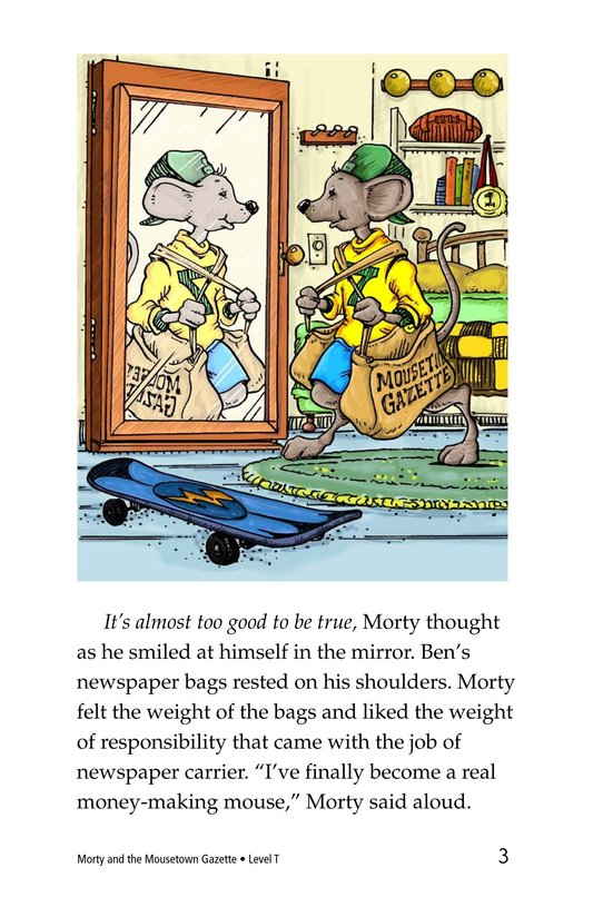 Book Preview For Morty and the Mousetown Gazette Page 3