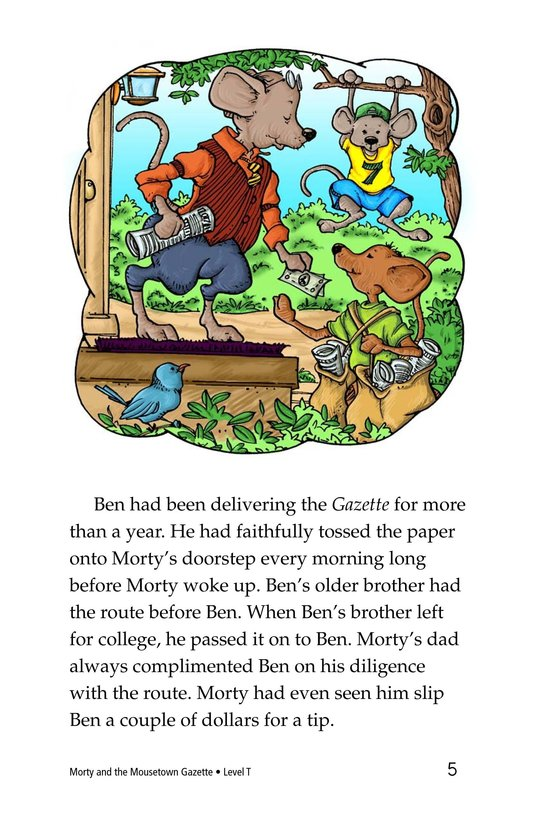 Book Preview For Morty and the Mousetown Gazette Page 5