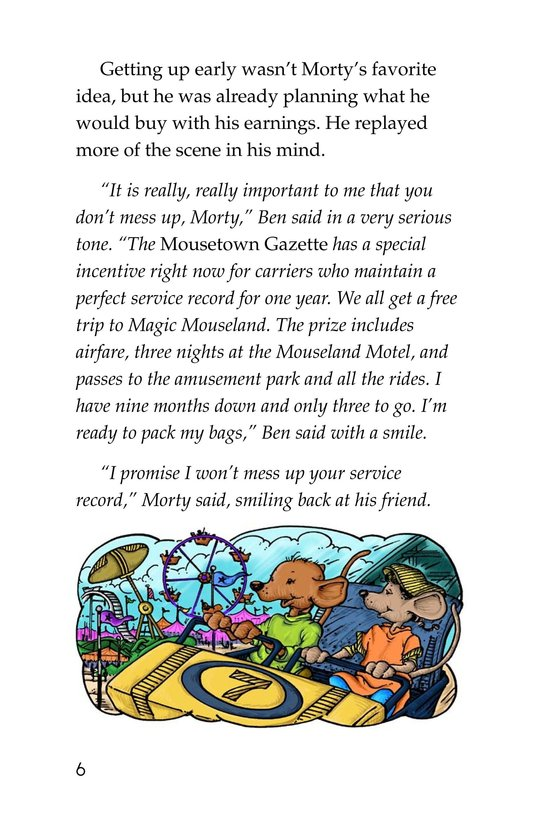 Book Preview For Morty and the Mousetown Gazette Page 6