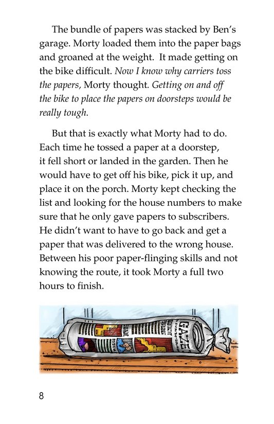 Book Preview For Morty and the Mousetown Gazette Page 8