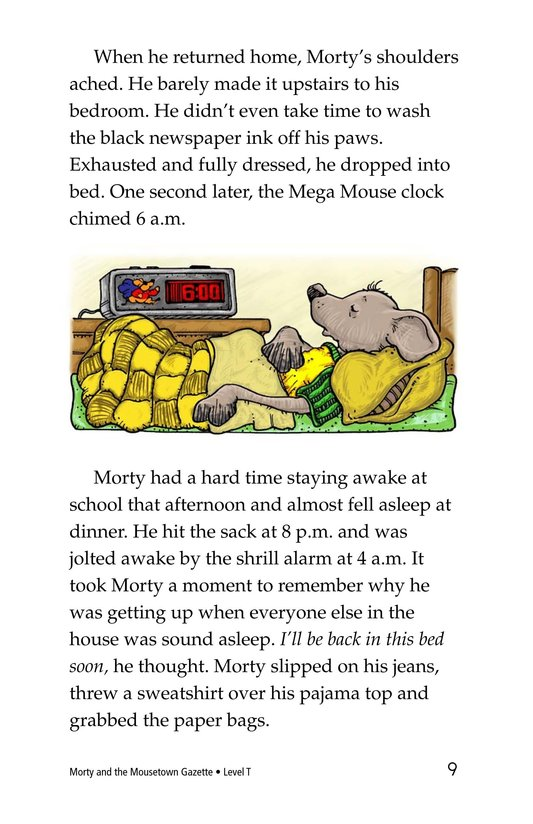 Book Preview For Morty and the Mousetown Gazette Page 9