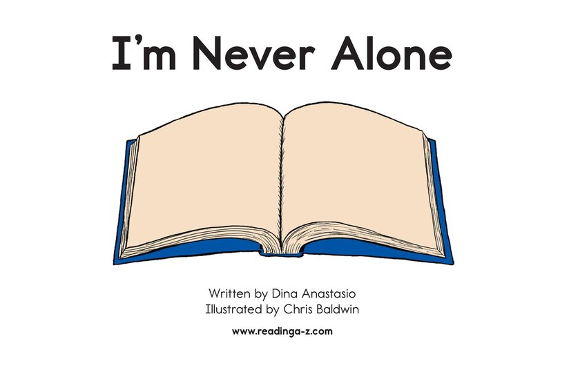 Book Preview For I'm Never Alone Page 2