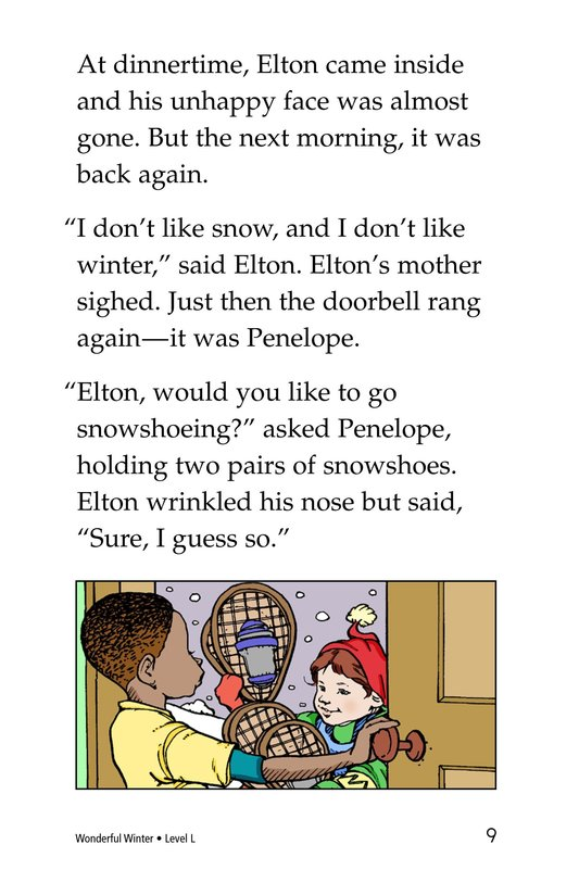 Book Preview For Wonderful Winter Page 9