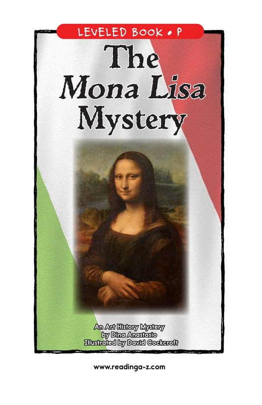 Book Preview For The Mona Lisa Mystery Page 1