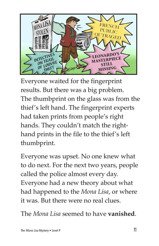Book Preview For The Mona Lisa Mystery Page 11