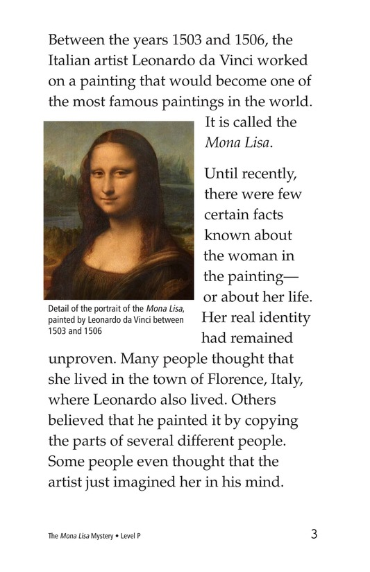 Book Preview For The Mona Lisa Mystery Page 3