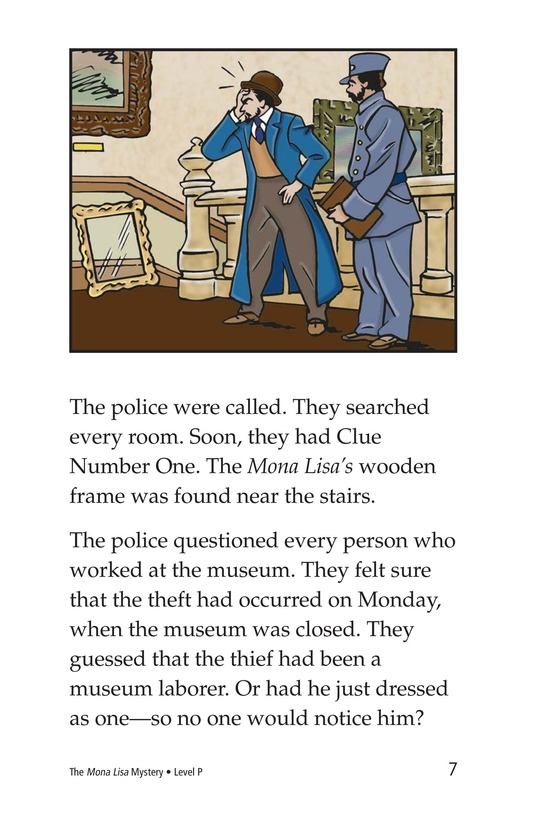 Book Preview For The Mona Lisa Mystery Page 7