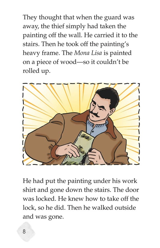 Book Preview For The Mona Lisa Mystery Page 8