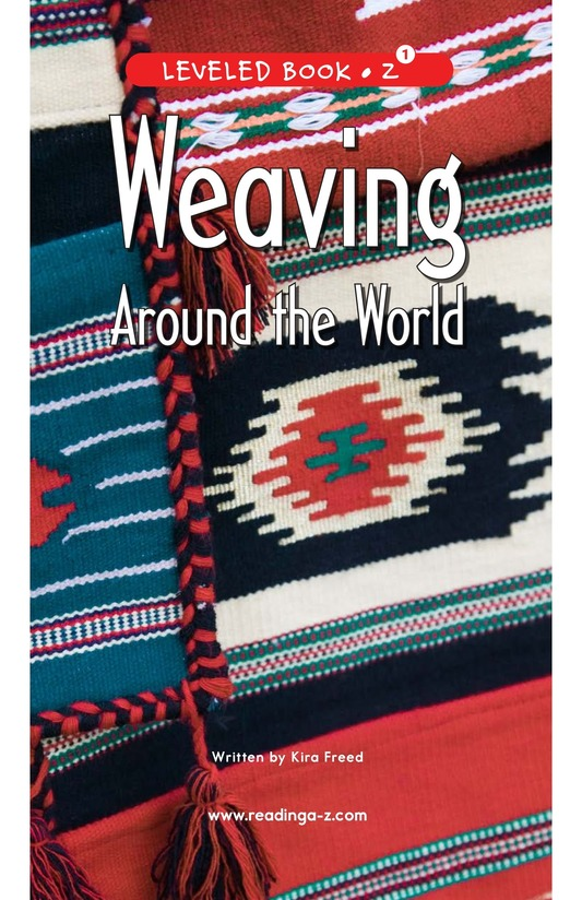 Book Preview For Weaving Around the World Page 1