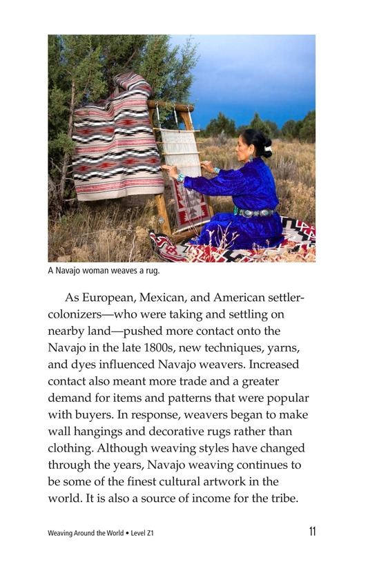 Book Preview For Weaving Around the World Page 11