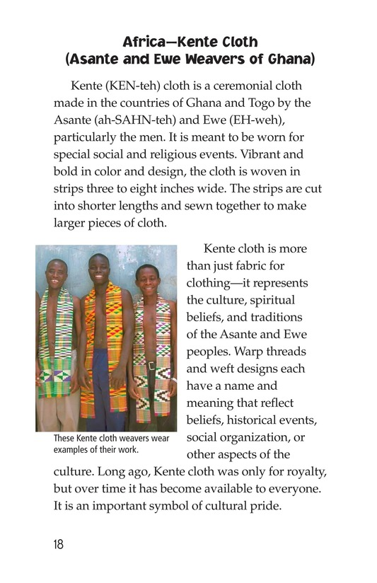 Book Preview For Weaving Around the World Page 18