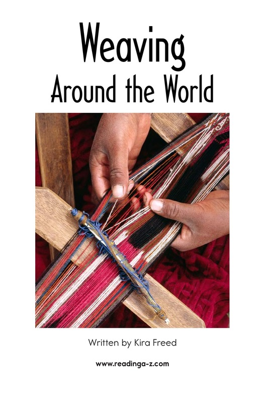 Book Preview For Weaving Around the World Page 2