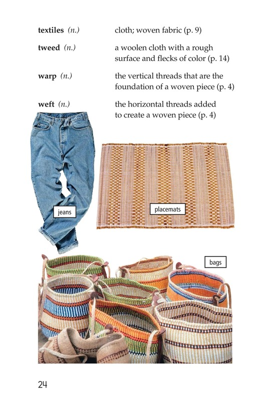 Book Preview For Weaving Around the World Page 24