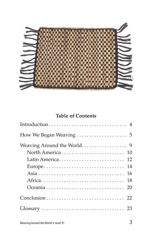 Book Preview For Weaving Around the World Page 3