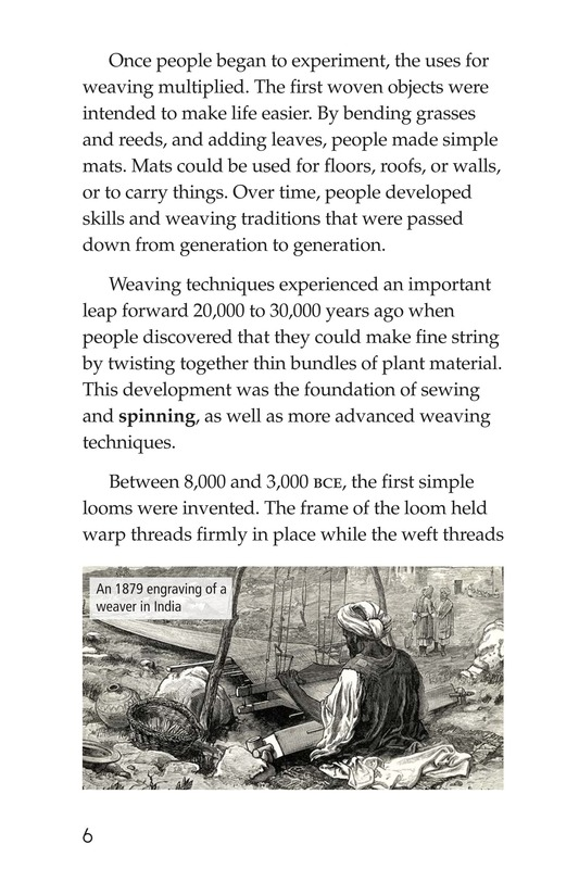 Book Preview For Weaving Around the World Page 6