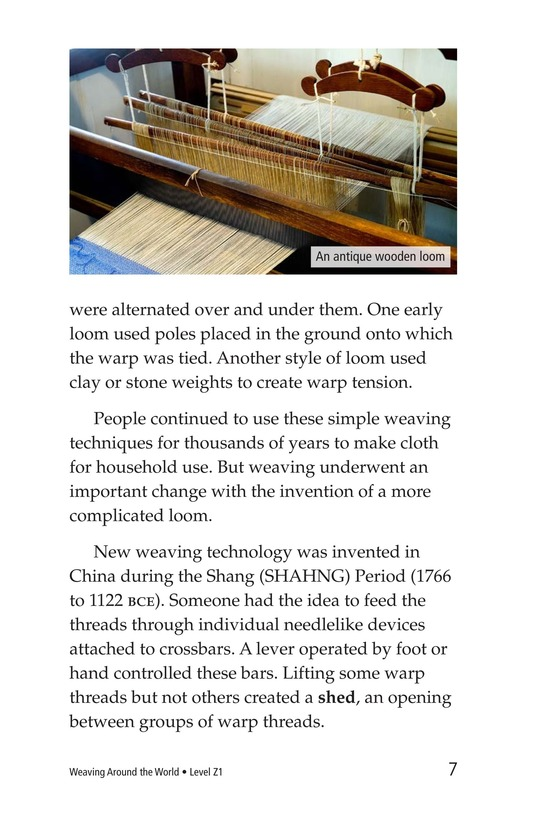 Book Preview For Weaving Around the World Page 7