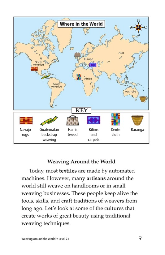 Book Preview For Weaving Around the World Page 9