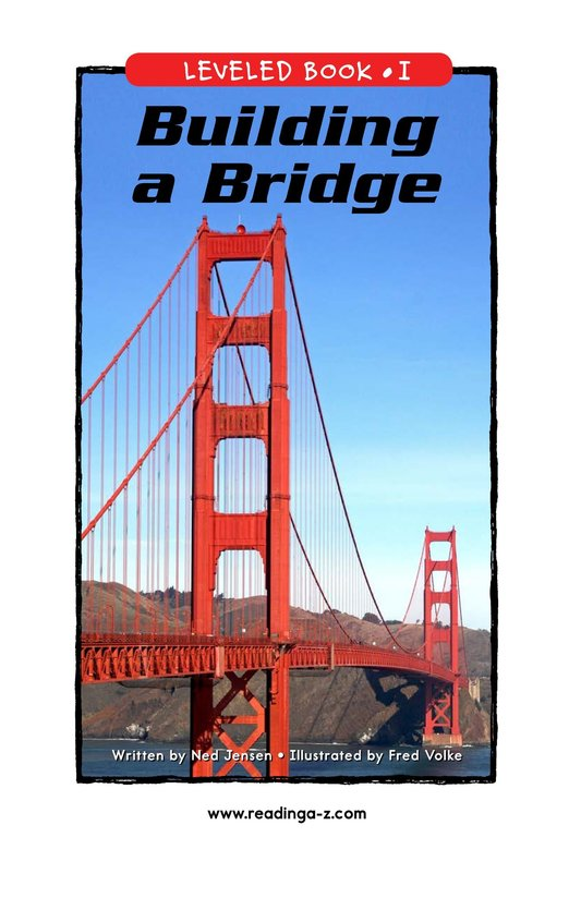 Book Preview For Building a Bridge Page 1