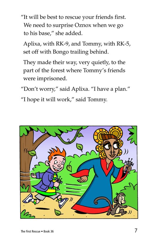 Book Preview For The First Rescue Page 7