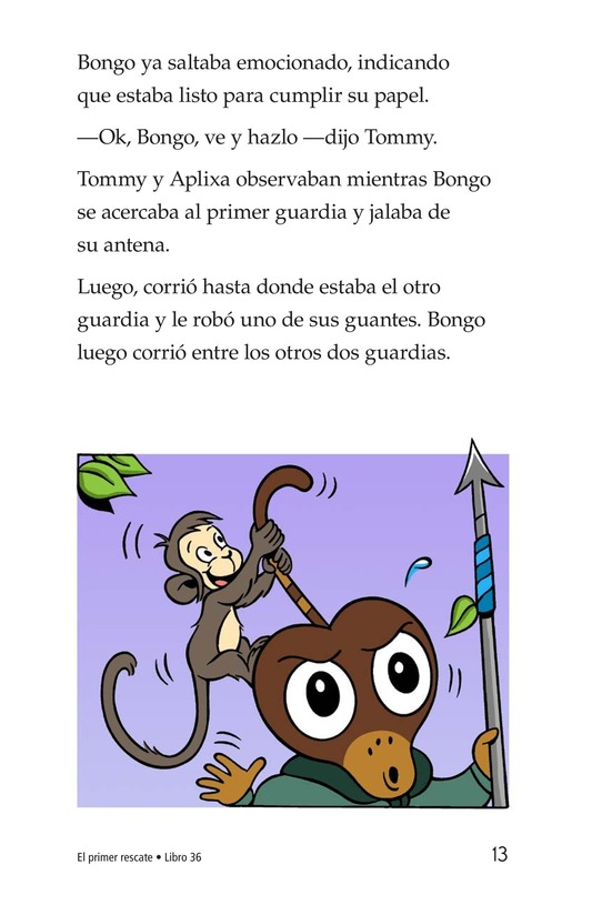 Book Preview For The First Rescue Page 13