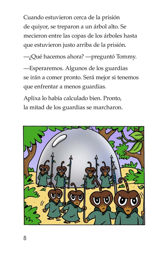 Book Preview For The First Rescue Page 8