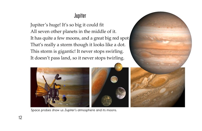 Book Preview For Planets of My Solar System Page 12