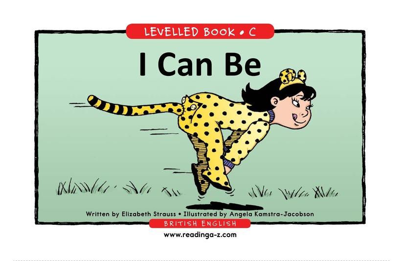 Book Preview For I Can Be Page 1