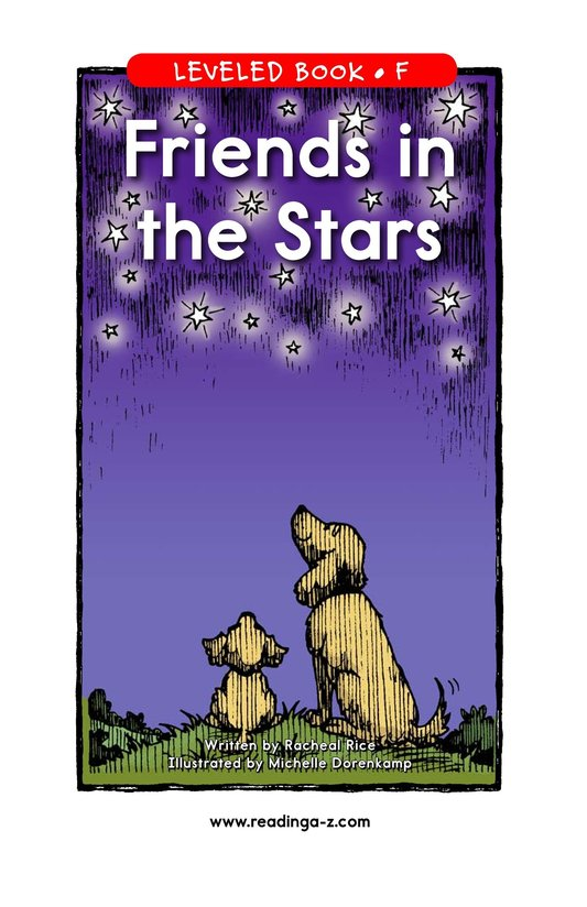 Book Preview For Friends in the Stars Page 1