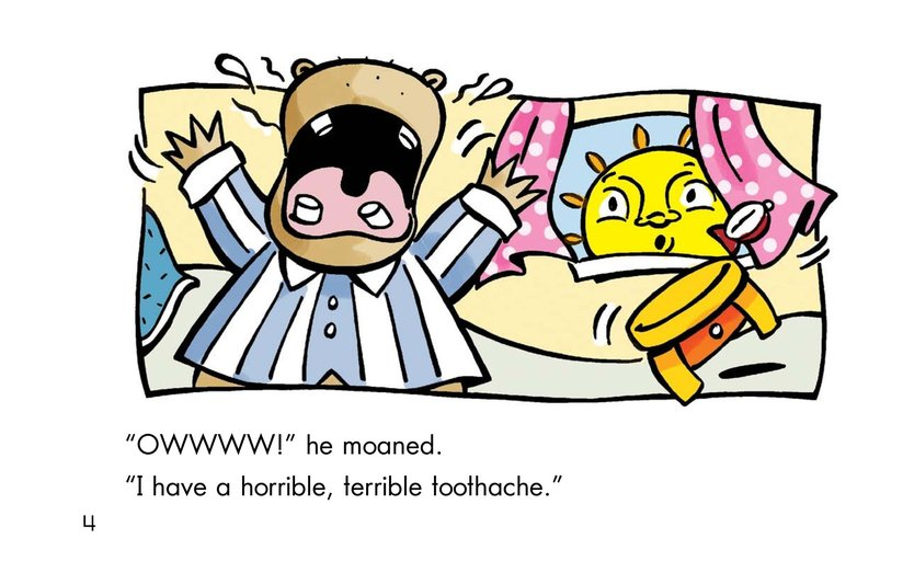 Book Preview For Hippo's Toothache Page 4