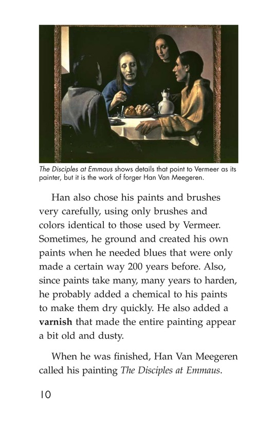 Book Preview For Two Artists: Vermeer's Forger Page 10