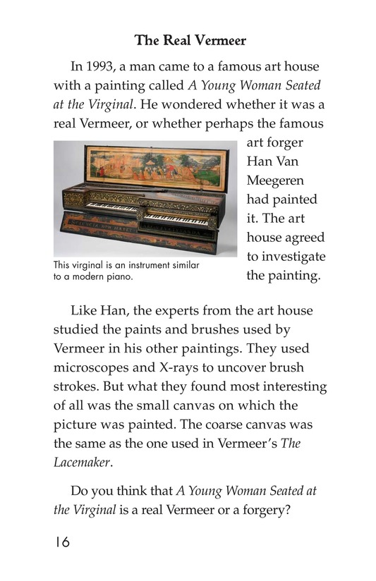 Book Preview For Two Artists: Vermeer's Forger Page 16