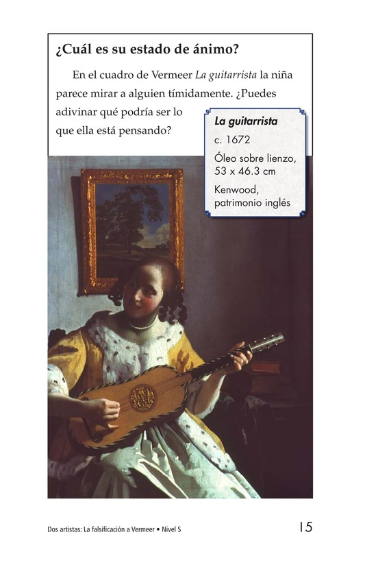 Book Preview For Two Artists: Vermeer's Forger Page 15