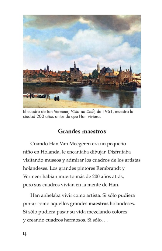 Book Preview For Two Artists: Vermeer's Forger Page 4