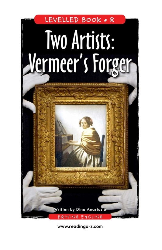 Book Preview For Two Artists: Vermeer's Forger Page 1