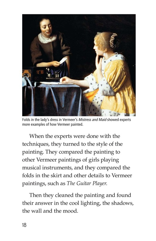 Book Preview For Two Artists: Vermeer's Forger Page 18