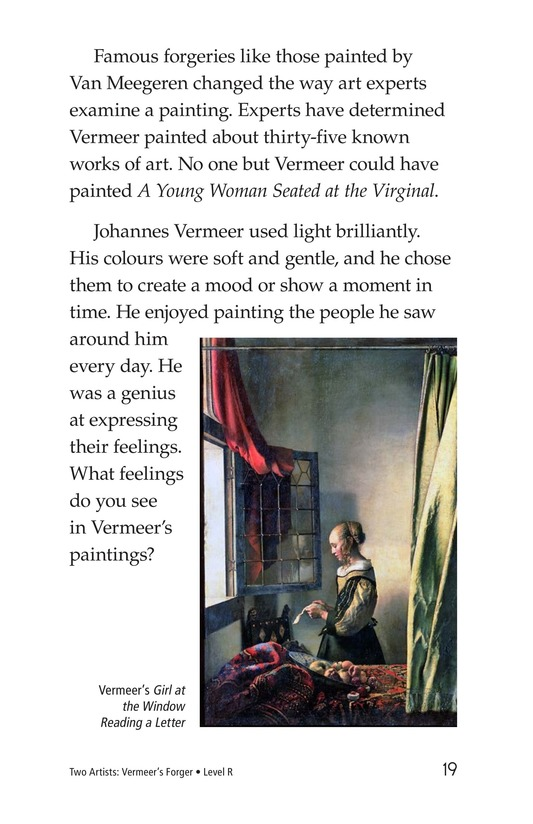 Book Preview For Two Artists: Vermeer's Forger Page 19