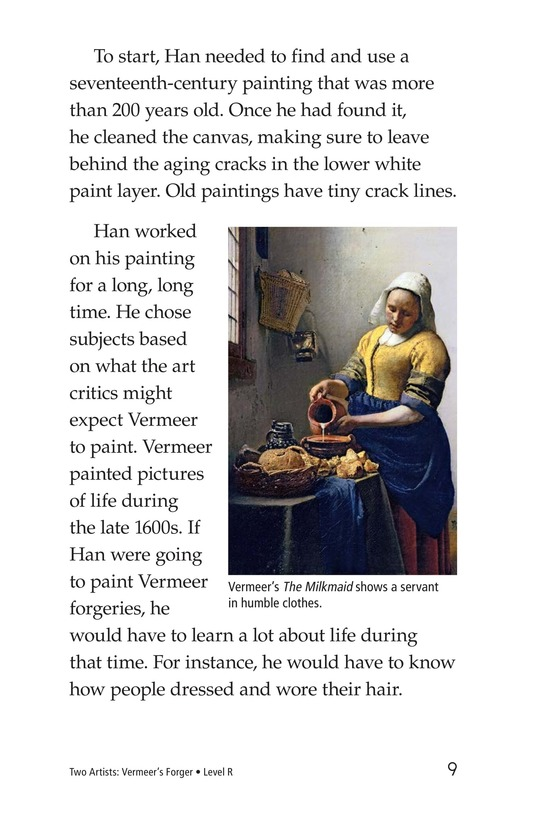 Book Preview For Two Artists: Vermeer's Forger Page 9