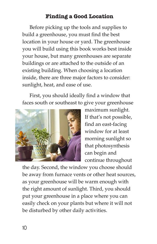 Book Preview For How to Build a Greenhouse Page 10