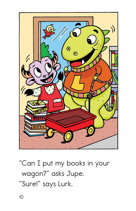 Book Preview For Monster Reading Buddies Page 10
