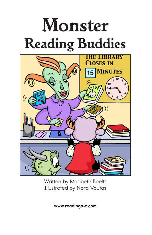 Book Preview For Monster Reading Buddies Page 2