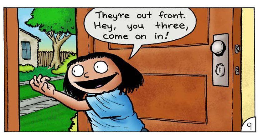 Book Preview For Kim: The New Kids Page 11