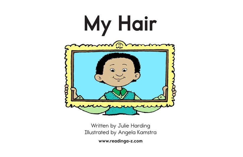 Book Preview For My Hair Page 2